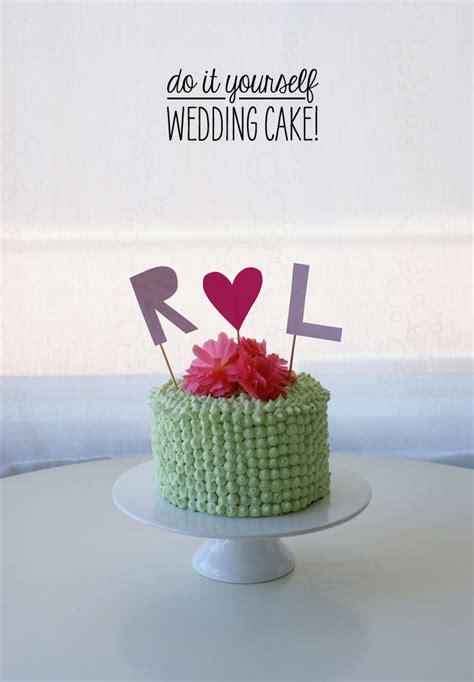 wedding cake poppytalk
