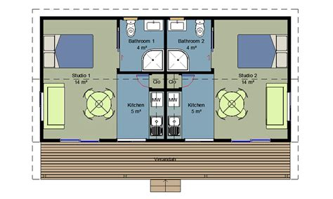 1 Bedroom Unit Layout by Genius 1 Bedroom Homes Prefabricated Cabins