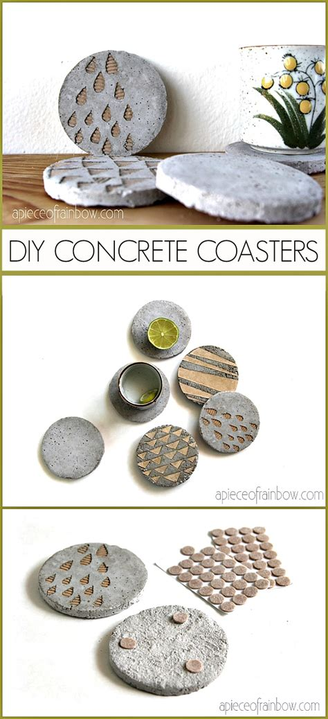 decorative coasters diy concrete coasters with decorative inserts the 36th