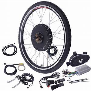 26 U0026quot  Electric Bicycle 48v 1000w Rear Wheel Conversion Kit New E