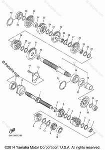 Yamaha Motorcycle 2005 Oem Parts Diagram For Transmission