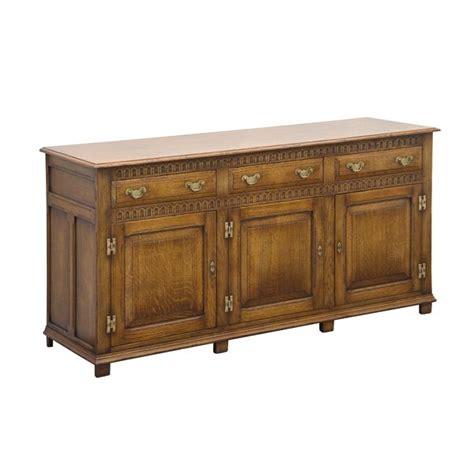 Wooden Sideboard Uk by Wooden Sideboard Solid Oak Sideboards Tudor Oak Uk