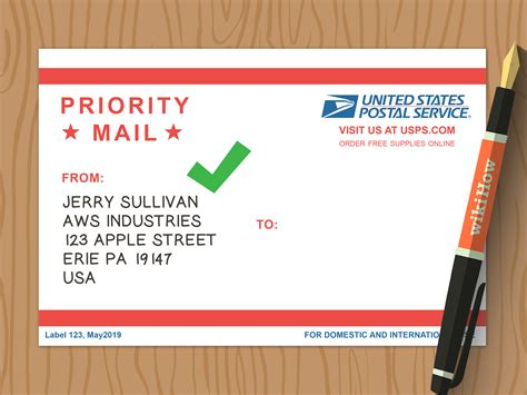 3 Ways To Write A Return Address