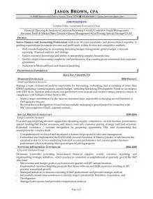 resume templates for accounts manager cv cover exles of resumes sle resume profile statement professional ideas 2294711 regarding 87