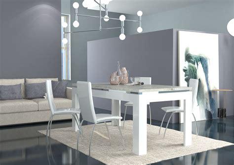 Tavolo Moderno Bianco Messico, Mobile Per Sala Da Pranzo