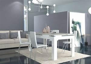 Tavolo moderno bianco messico mobile per sala da pranzo for Tavolo bianco moderno