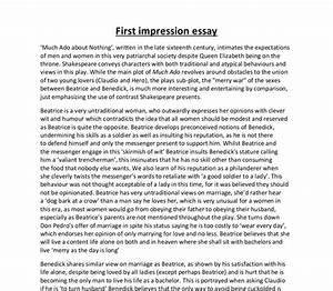First Impressions Essay Dissertation Topics In Criminology First  First Impressions Essay Ideas  Teen Pregnancy Essays Essay Papers also Science Fiction Essay Topics  How To Write A Thesis Sentence For An Essay