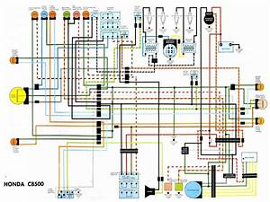 Honda Cb 500 1979 Wiring Diagram
