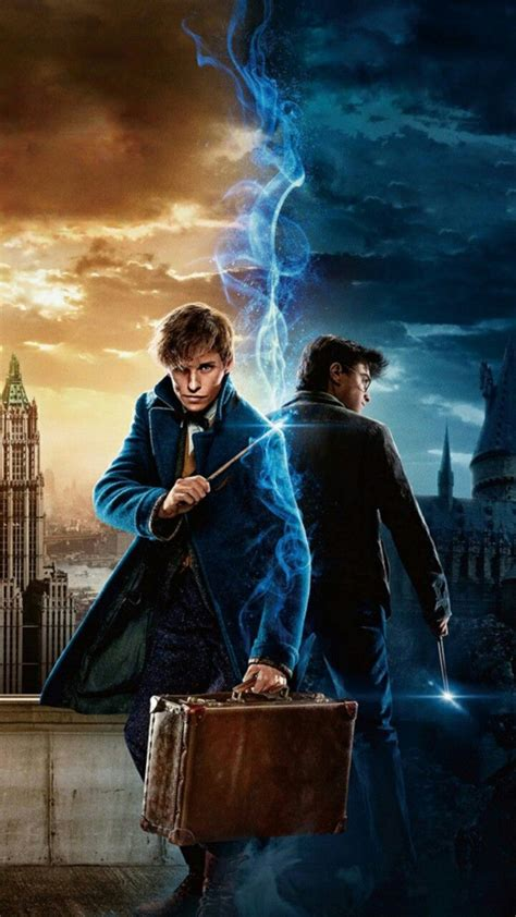 potter harry fantastic beasts wallpapers them hand