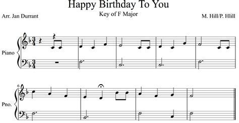 This is free piano sheet music for happy birthday, traditional provided by makingmusicfun.net. Happy Birthday Easy Piano 5 Tips