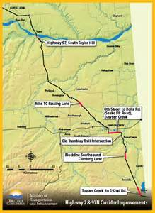 Fort Hills Alberta Map