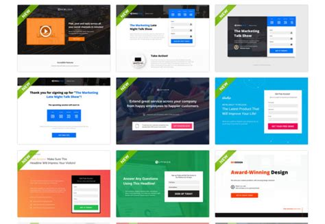 instapage templates 16 landing page builders reviewed and ranked martech wiz