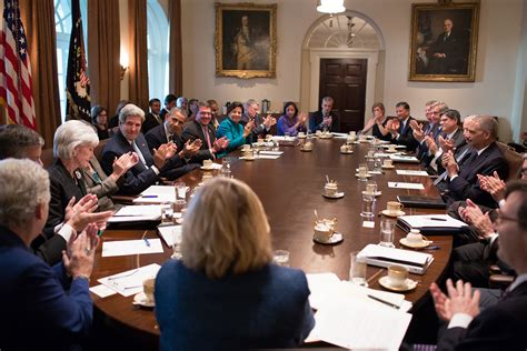 Cabinet White House by File President Barack Obama Holds A Cabinet Meeting In The