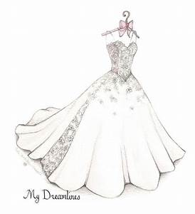resultado de imagen para dress drawing ropa y accesorios With how to draw a wedding dress