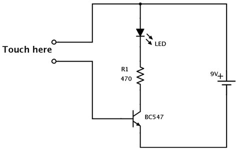 How Make Simple Touch Sensor Build Electronic Circuits