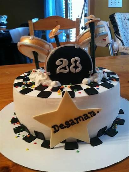 Birthday Cake Drummer Drummers