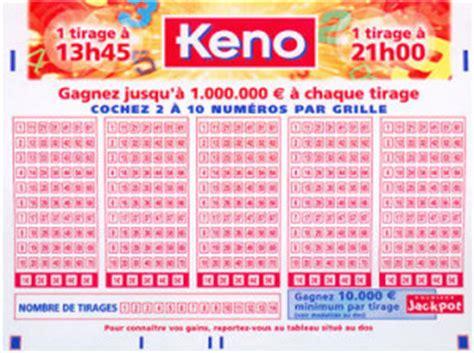 le keno le jeu de tirage qui fait gagner 224 vie 1cp be