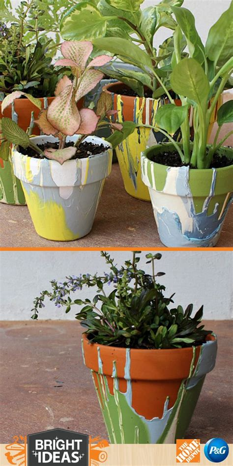 diy flower pots 1000 images about diy flower pots planters on pinterest planters herb planter box and