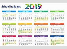 Malaysia Public & School Holidays Calendar 2019 Free