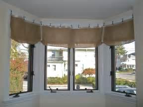 Kitchen Valance Curtain Ideas by No Sew Burlap Valance