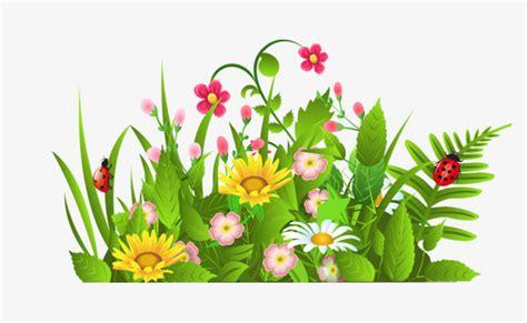 printemps si e social les fleurs au printemps de dessins animés dessin de
