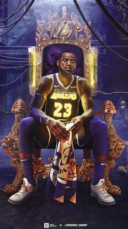 Lebron Lakers James Basketball Kobe King Bryant
