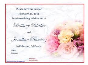 free wedding sles by mail free wedding invitation sle books wedding invitation