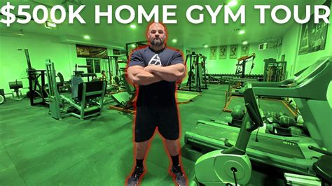 brian shaw finishes   home gym fitness volt