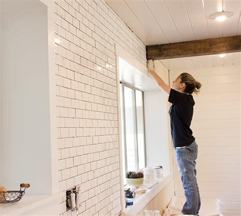 how to install subway tile kitchen chronicles a diy subway tile backsplash part 1