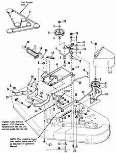 26 Simplicity Mower Deck Belt Diagram
