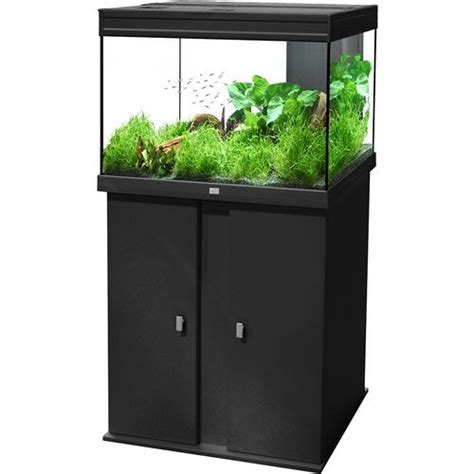 ensemble aquarium meuble 128 litres elegance plus animaloo
