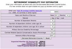 2018 Military Retirement Pay Chart Va Compensation Rates Table 2017 Review Home Co