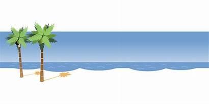 Gambar Kartun Pantai Vektor Santai Jalan Unduh