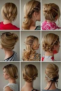 Coiffure Pour Cheveux Mi Longs : comment faire une coiffure facile cheveux mi longs ~ Melissatoandfro.com Idées de Décoration