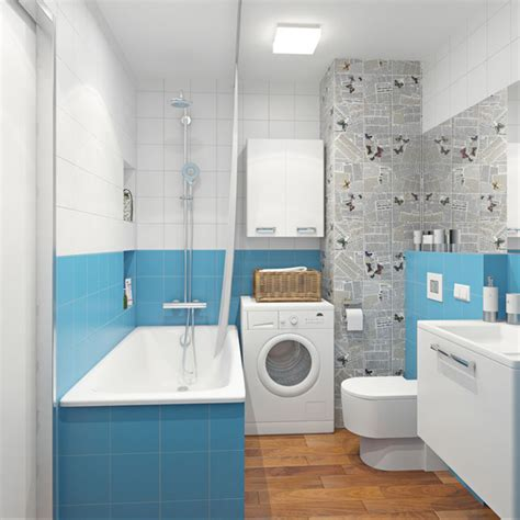 Blue And Gray Bathroom, Blue Grey Small Bathrooms Blue And