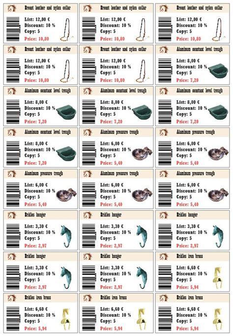 price tag generator   customize  samples
