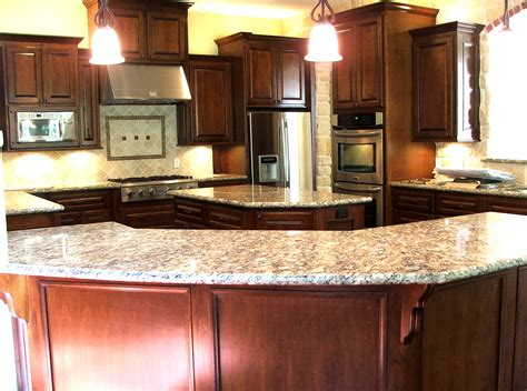brown wood kitchen cabinets brown wooden cherry kitchen cabinet and kitchen island 4943