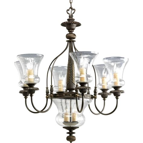 replacement chandelier glass l shades progress lighting p4410 77 forged bronze fiorentino 6