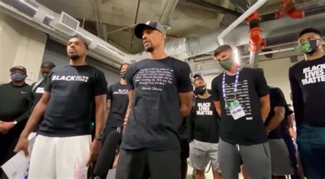 NBA Teams Boycott Playoffs to Protest Police Shooting of ...