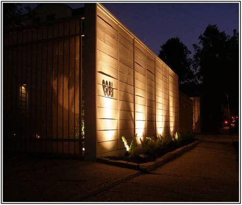 10 Things To Know About Fence Lights Outdoor Warisan