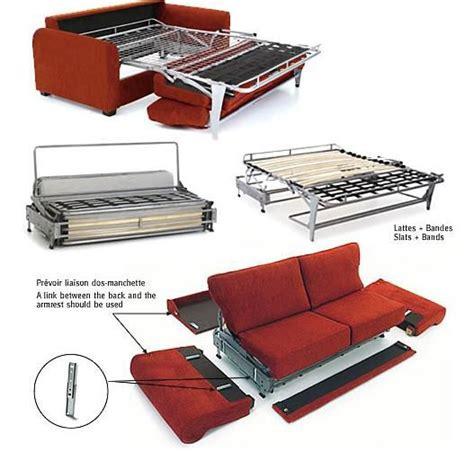 canape lit pour couchage permanent le convertible pour couchage quotidien par home spirit