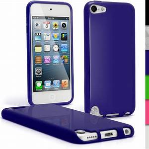 iGadgitz Blue Glossy Crystal Gel Skin TPU Case Cover for ...