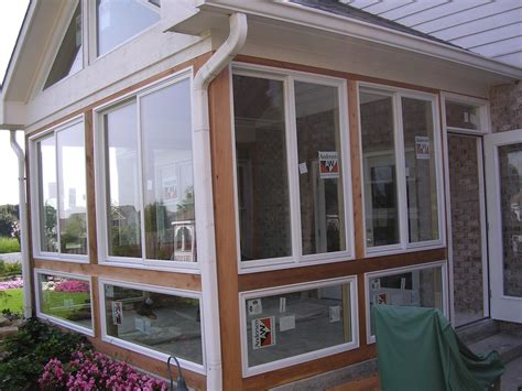 convert screen porch to sunroom converting a screened porch into a 4 season room is an