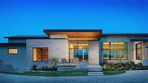 One, Story, Mediterranean, House, Plansmodern