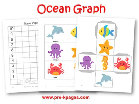 kindergarten ocean animals math worksheets search