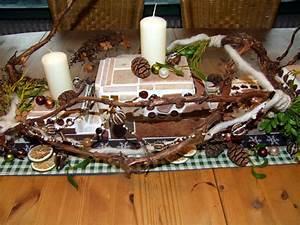 Einfache Herbstdeko Tisch : eine weihnachtsdeko aus beton und mosaik in naturfarben meriseimorion ~ Markanthonyermac.com Haus und Dekorationen