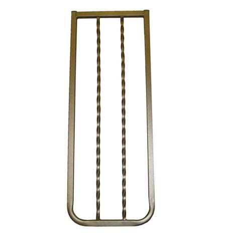 cardinal gates 30 in h x 10 5 in w x 2in d extension for wrought iron decor gate bronze wix