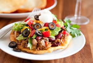 Indian and Navajo Tacos Fry Bread