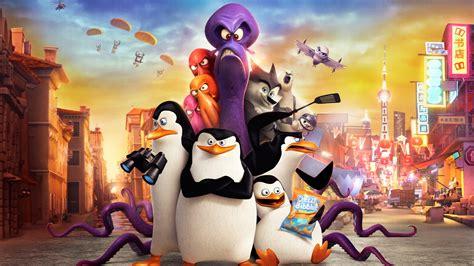 full hd wallpaper penguins  madagascar main characters