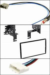 Double Din Car Radio Install Dash Kit Combo For Select
